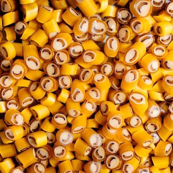 Caramelos artesanales de Plátano