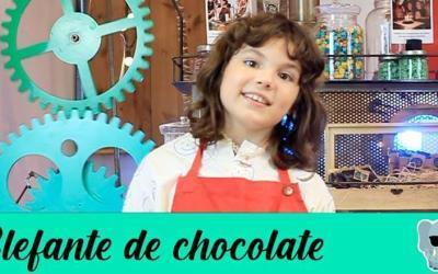 ¿Cómo hacer unos elefantes de juguete en chocolate?