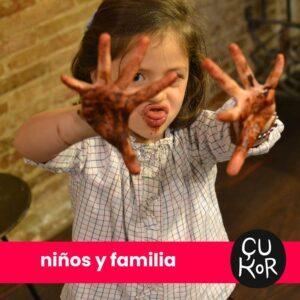 taller niños y familia